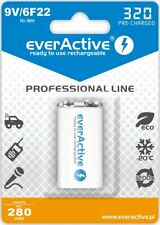Rechargeable everActive 6F22/9V Ni-MH 320 mAh