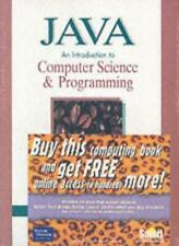 Java: An Introduction to Computer Science and Programming,Walter Savitch