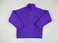 VINTAGE Patagonia Sweater Womens Large Purple Retro X Fleece Pullover Ladies *