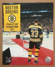 Zdeno Chara Boston Bruins 2011 Stanley Cup Finals 8 X 10 Glossy Photo NHL DM1