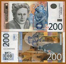 Serbia, 200 Dinara, 2005, P-42, UNC