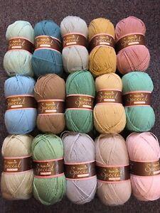 15 x 100g Stylecraft Special D/K Wool/Yarn Knitting/Crochet Dune Attic 24 Pack
