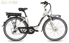 """Bicicletta elettrica E-BIKE Elios DELUXE EVO 28"""" 7 V MOTORE ANTERIORE 250 W 2016"""