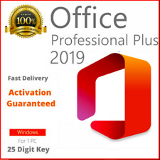 MICROSOFT®OFFICE 2019 Pro Plus Windows 32/64 License key instant delivery