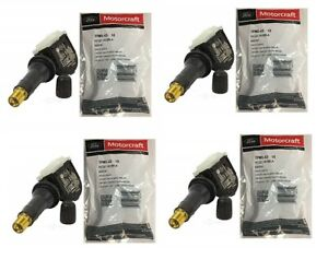 4 New OEM Ford Motorcraft TPMS Tire Pressure Monitor Sensors TPMS42 HC3Z-1A189-A