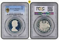 1979 AUSTRALIA 50 CENTS PCGS PR69DCAM PROOF COIN ONLY 3 GRADED HIGHER