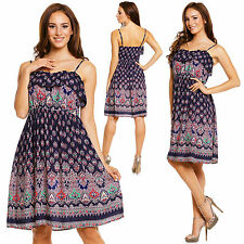 Cotton Bandeau Sundresses for Women