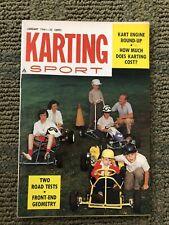 Karting Sport Mini Magazine January 1961 Go Kart