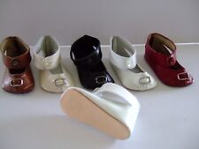 G.BRAVOT for old or modern doll Doll shoes 9.7 cm Leather shoes Size 14