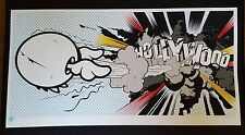 D*FACE Hollywood Boom Signed Numbered Dface not banksy obey fairey dolk kaws mbw