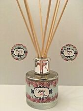 Reed Diffuser - Hand Poured - 100ml Glass Bottle - Fragrance Cool Citrus Basil