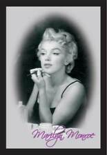 Monroe, Marilyn Make Up - 20x30 cm bedruckter Spiegel im Kunststoff Rahmen
