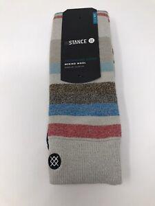STANCE Merino Wool Blend Men's 'Rivers' Snowboard Socks - LARGE/XL (9-13) - NEW!