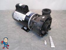 "Aqua-Flo 56fr Spa Hot Tub Pump 3HP 230V 2"" 2 Speed 12A Universal Video How To"
