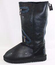 NEW Womens Size 10 AUSTRALIA LUXE Biker Long BIK202MOR Blue Black