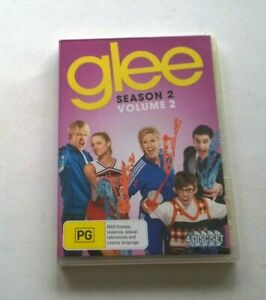 Glee season 2 volume 2     dvd clean disk Australian release
