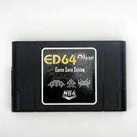 EverDrive N64 Latest ED64 Plus + 16gb Preloaded SDcard (for us, eu& jp N64) PAL