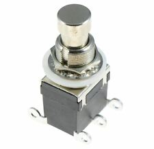 On-(On) Momentary Foot Switch Side Terminals DPDT