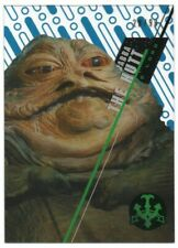 2016 Star Wars High Tek Blue Rainbow #SW7 Jabba the Hutt 28/99