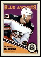 2019-20 UD OPC O-Pee-Chee Retro Base #62 Brandon Dubinsky - Blue Jackets