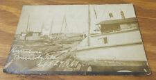 1906 Real Photo Postcard/HURRICANE DEVASTATION IN PENSACOLA, FL, 9/27, FLORIDA