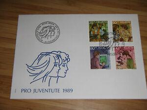 Schweiz - Ersttagsbrief Pro Juventute 1989