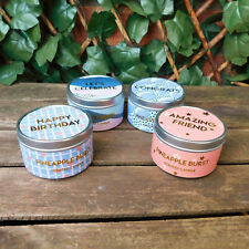 Candle in a Tin Home Fruit Treat Pineapple Wedding Love Friend Birthday Thanks