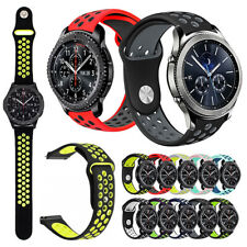 Rubber Bracelets Silicone Bands for Galaxy Watch Bands 46mm 42mm Gear S3 Bands