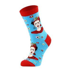 Women Frida Kahlo Socks/Gift Socks/Novelty Socks/Premium Cotton Rich Socks