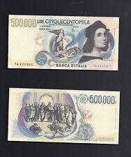 Riproduzione Banconota 500000 lire Raffaello  - 1997 - Lire Italiane
