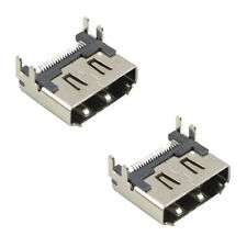 2X Recambio HDMI Puerto Enchufe Interfaz Conector Para sony PLAYSTATION 4 PS4
