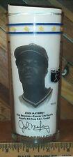 Kansas City Royals Mlb Player John Mayberry Collectible Drinking Glass Tumbler