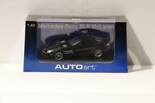 1/43  Autoart #56122 Mercedes-Benz SLR McLaren Black w Free ship!
