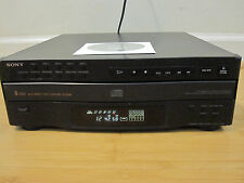 Sony CDP-C322M 5 Disc CD Changer/Carousel w/Manual Tested Free shipping