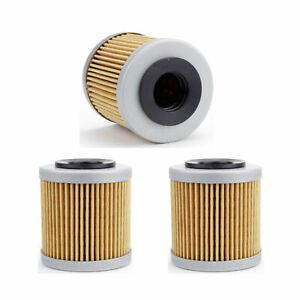 3er Pack Oil Filter 563 for Aprilia 450 Sxv Street Legal Year 09