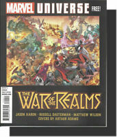 VF Marvel Universe:War of the Realms-COMIC BOOK Previews Deadpool+Avengers+Spide