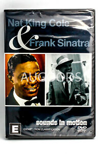 Nat King Cole & Frank Sinatra sounds in motion -DVD -Music New Region ALL
