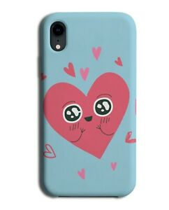Cartoon Love Heart Phone Case Cover Happy Smile Hug Hugs Smiley Face M476