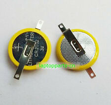 2PCS x New Tabbed CR2032 Save Battery For Game Boy Pokeman With 2 solder Tabs