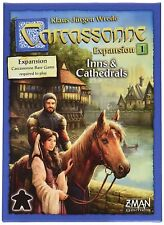 Carcassonne 2.0 Inns & Cathedrals Expansion #1 Board Game Z-Man Games ZMG 78101