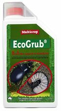 Eco Grub 1L Concentrate  Multicrop Fertiliser Organic Wetting Agent Lawn Turf