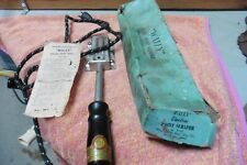 Vintage Wally electric paint scraper P225 Hot Cloth Cord with instructions