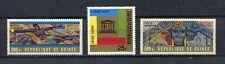 27238) GUINEA 1966 MNH** Nuovi** UNESCO 3v
