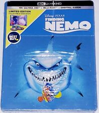 [Scratches ! Dented ! Sealed Finding Nemo [4K Ultra Hd Blu-ray Steelbook