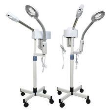 Segawe 2in1 Facial Steamer 5X Magnifying Lamp Hot Ozone Machine Spa Salon Beauty