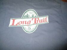 "Blue Long Trail Brewing Co. ""Take A Hike"" Logo T Shirt Xl Vermont Beer Ale"