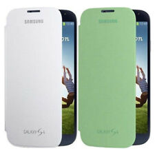2 Pack blanca + verde Inteligente Abatible Cubierta Para Samsung Galaxy S4 i9500 i9505 Slim Fit