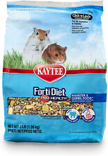 New listing Kaytee Forti Diet Pro Health Hamster and Gerbil Food, Crunchy Treat, 3 Lbs