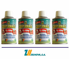 ZZ COOPERMATIC FLY KILLER LD - Insecticida / Insecticide - 4 x 250 mL - Zelnova