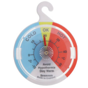 DIAL HYPOTHERMIA THERMOMETER WALL COLD TEMPERATURE ELDERLY HEALTHCARE 14/868/2